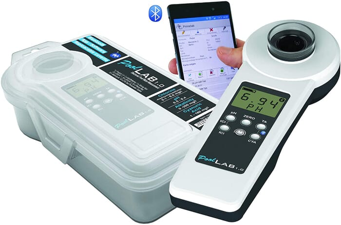 Pool Lab 1.0 Photometer Electronic Water Tester